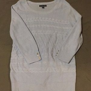 Blue Karen Scott sweater